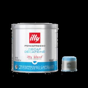 illy iperEspresso Capsules - Medium Roast Decaffeinated (with capsule)