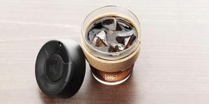 illy KeepCup Travel Mug - Glass 12oz with Ice