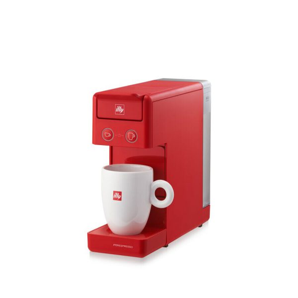 illy Y3.3 iperEspresso Machine Red 2