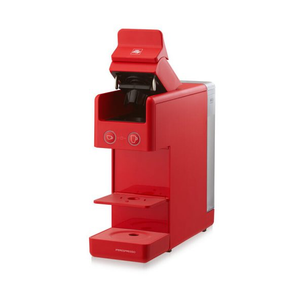 illy Y3.3 iperEspresso Machine Red 3