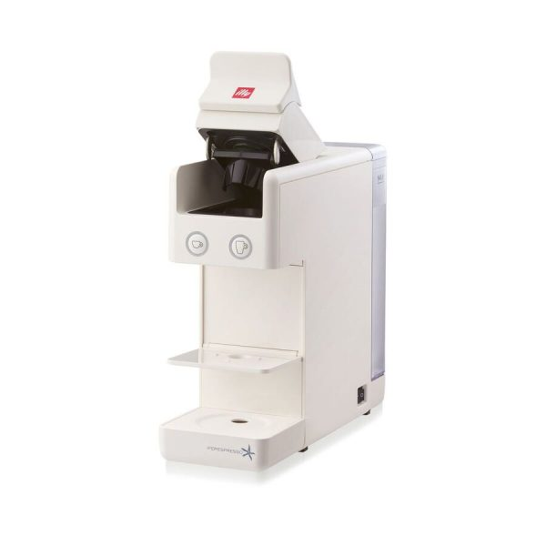 Y3.2 iperEspresso Espresso & Coffee Machine - White Open