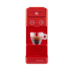 illy Y3.3 iperEspresso Machine Red