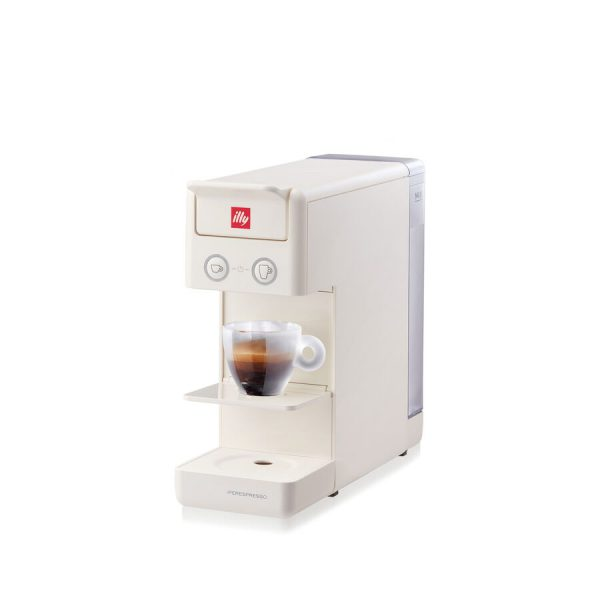 illy Y3.3 iperEspresso Machine White 1