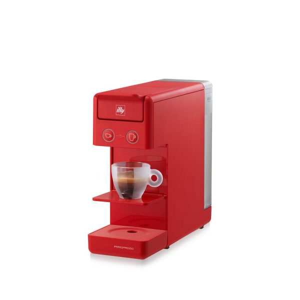 illy Y3.3 iperEspresso Machine Red 1