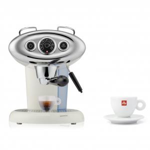 BUNDLE Cappuccino Cup: illy X7.1 iperEspresso Machine White