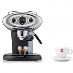 BUNDLE Cappuccino Cup: illy X7.1 iperEspresso Machine Black