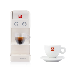 BUNDLE Cappuccino Cup: illy Y3.2 iperEspresso Machine White