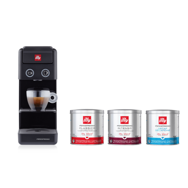 illy Y3.2 Black Business Subscription