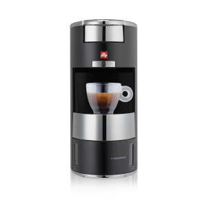 illy Malaysia X9 Coffee Machine for Home Silver & Black - Capsule Coffee Italian Design