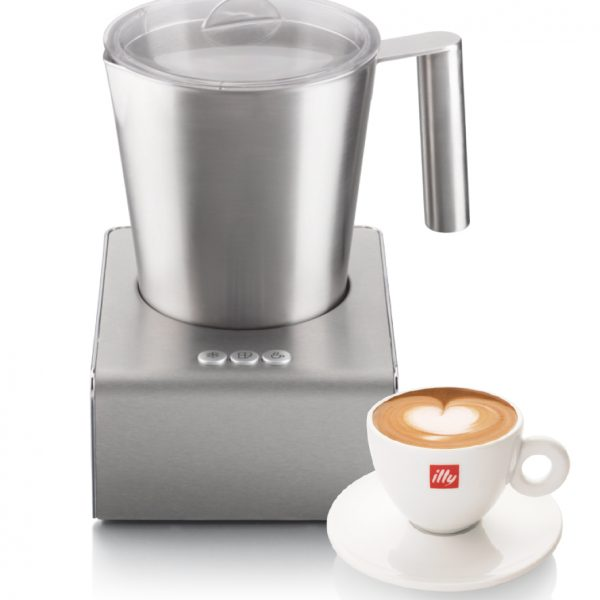 illy milk frother Malaysia - hot cold froth milk and chocolate - cappuccino cup