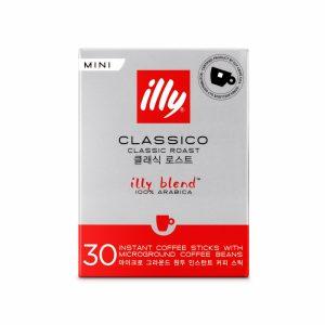 illy Medium Classico Instant Coffee Sticks Regular Size illy Malaysia - 30 Sticks