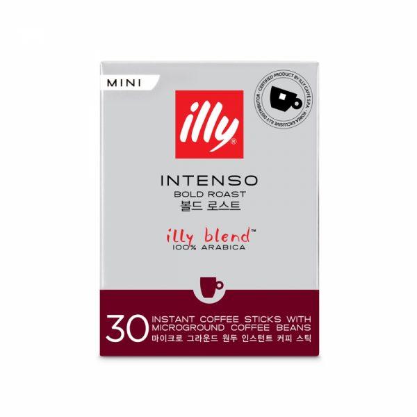 illy Intenso Instant Coffee Sticks Regular Size illy Malaysia - 30 Sticks