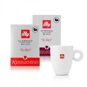 Large Instant Coffee Sticks Mug Bundle illy Malaysia