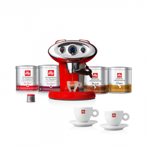 illy Malaysia Luxury Discovery Bundle X7.1 Coffee Machine Red