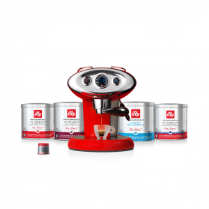 illy Malaysia Red X7.1 Coffee Machine Bundle Offer 9.9 - includes 4 packs of capsules