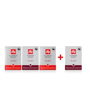illy Malaysia Instant Coffee Convenient coffee sticks -70 Sticks Large Size 3+1 Bundle offer