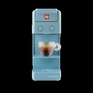 illy Malaysia Y3.3 Amalfi Blue iperespresso Italian coffee machine front
