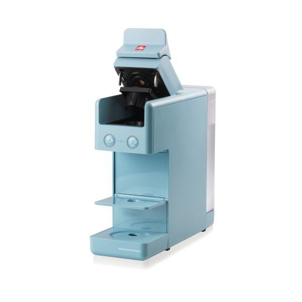 illy Malaysia Y3.3 Amalfi Blue iperespresso Italian coffee machine open